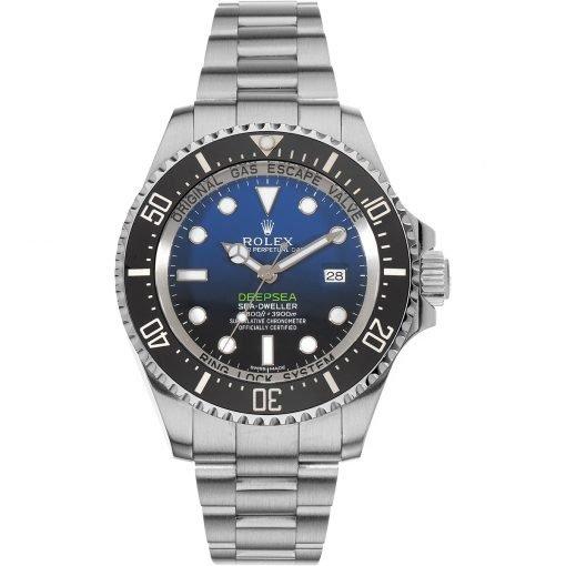 Rolex Deepsea 116660 D-Blue 44mm Ceramic Steel Sea Dweller