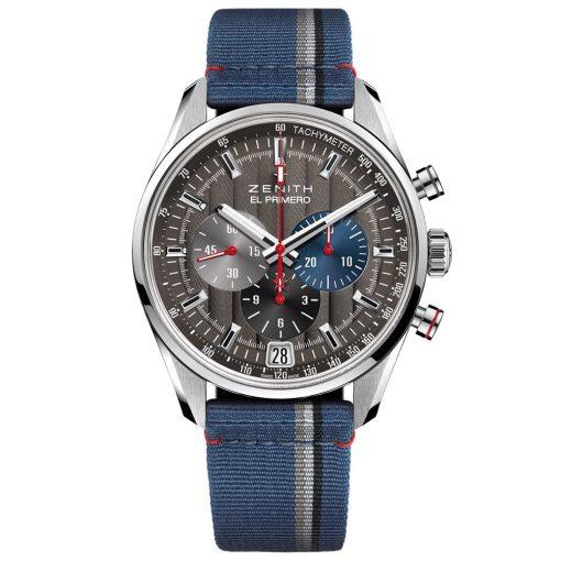 ZENITH El Primero Chronograph Automatic Grey Dial Watch 03.2046.400/25.C802