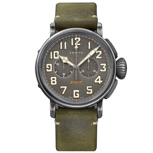 Zenith Pilot Type 20 Chronograph Watch 11.2430.4069/21.c773