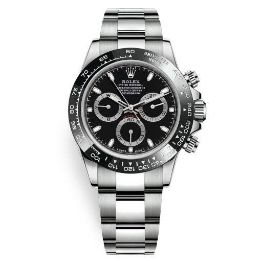 Rolex Cosmograph Daytona 116500LN Black Stainless Steel Mens Watch