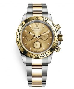 Rolex Cosmograph Daytona 116503 Champagne Index Oyster Steel and Gold Mens Watch