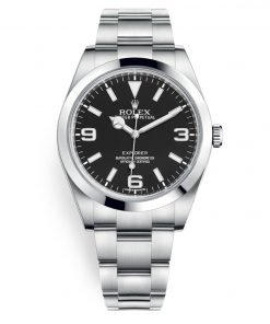 Rolex Explorer 214270 Black Luminous 39mm Mens Watch