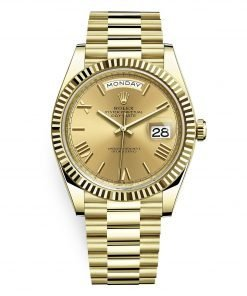 Rolex 228238 Day-Date Champagne Roman 40mm Yellow Gold Men's Watch