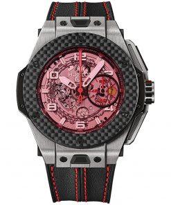 Hublot Big Bang UNICO Ferrari 45mm Mens Watch 401.nq.0123.vr