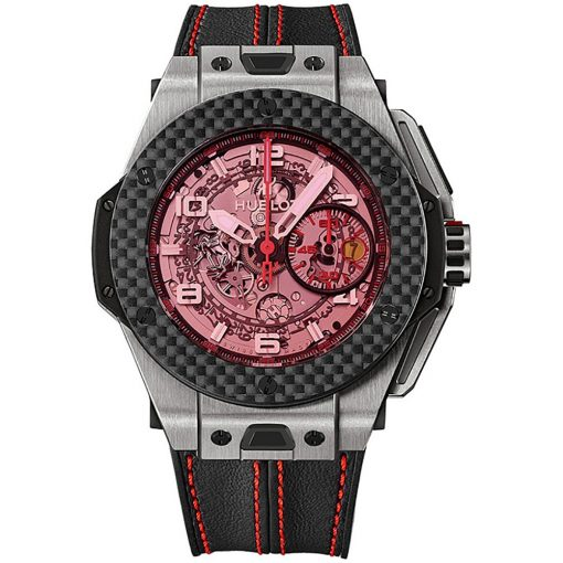 Hublot Big Bang UNICO Ferrari 45mm Mens Watch 401.nq.0123.vr