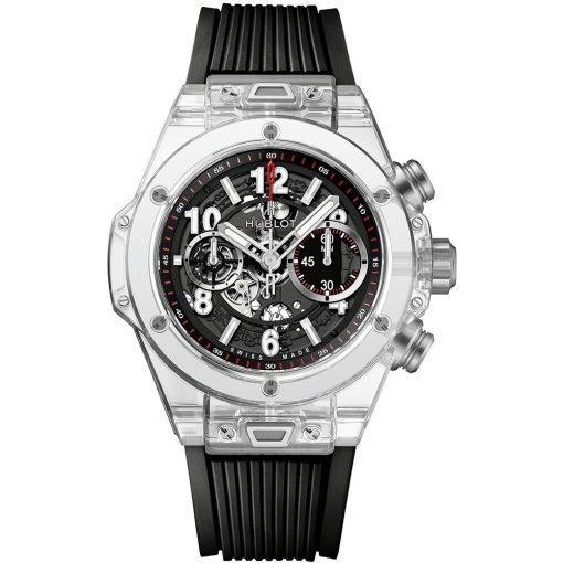 Hublot Big Bang UNICO 45mm Mens Watch 411.jx.1170.rx Magic Sapphire