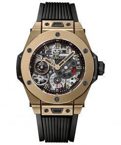Hublot Big Bang Meca-10 45mm Mens Watch 414.mx.1138.rx FULL MAGIC GOLD