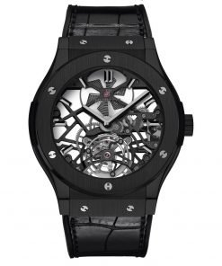 Hublot Classic Fusion Tourbillon 45mm Mens Watch 505.cm.0140.lr