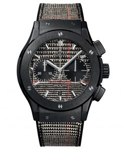 Hublot Classic Fusion Chronograph 45mm Mens Watch 521.CM.2706.NR.ITI17 Prince de Galles Ceramic