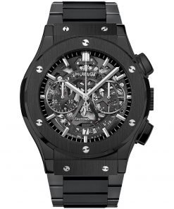 Hublot Classic Fusion Aerofusion Chronograph 45mm Mens Watch 525.cm.0170.cm Black Magic