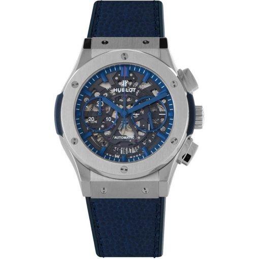 Hublot Classic Fusion Aerofusion Chronograph 45mm Mens Watch 525.nx.0123.vr.nyg16 New York Giants Victor Cruz