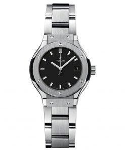 Hublot Classic Fusion Quartz 33mm Ladies Watch 581.nx.1171.nx
