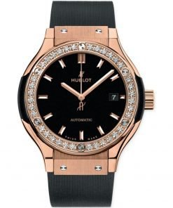 Hublot Classic Fusion Automatic 33mm Ladies Watch 582.ox.1180.rx.1204