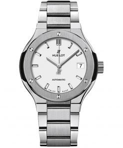Hublot Classic Fusion Automatic 33mm Ladies Watch 585.NX.2610.NX