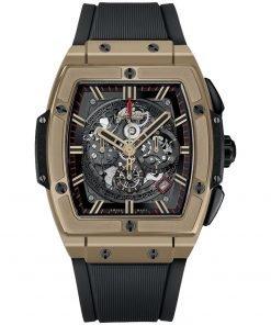 Hublot Spirit Of Big Bang Chronograph 45mm Mens Watch 601.mx.0138.rx FULL MAGIC GOLD