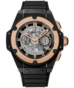 Hublot King Power UNICO Chronograph 48mm Mens Watch 701.co.0180.rx Black Magic