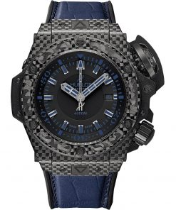 Hublot King Power Oceanographic 4000 48mm Mens Watch 731.qx.1190.gr.abb12 ALL BLACK BLUE