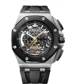 AUDEMARS PIGUET ROYAL OAK OFFSHORE TOURBILLON CHRONOGRAPH OPENWORKED #26348IO.OO.A002CA.01