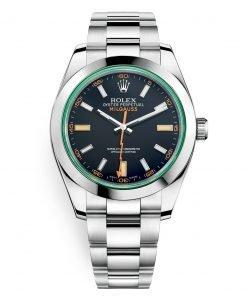 Rolex Milgauss 116400gv Black 40mm Mens Watch