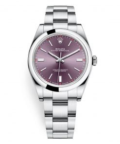 Rolex 114300 Red Grape Oyster Perpetual 39mm Watch