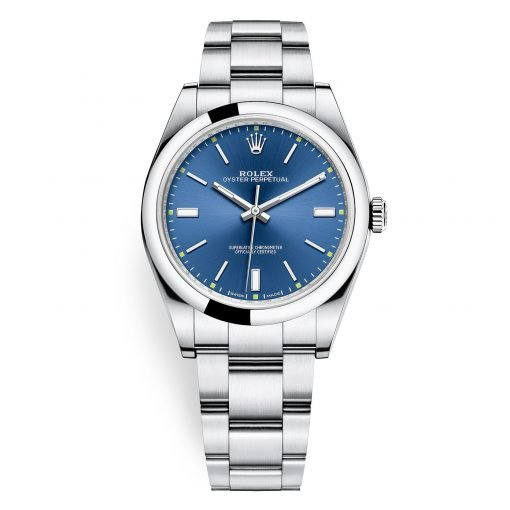 Rolex 114300 Blue Oyster Perpetual 39mm Watch