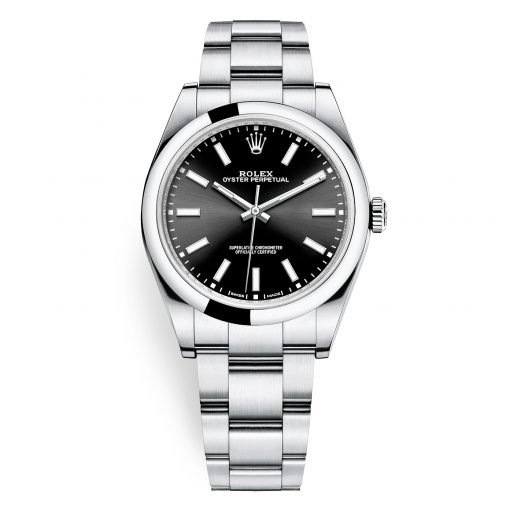 Rolex 114300 Black Oyster Perpetual 39mm Watch