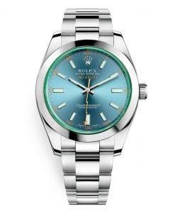 Rolex Milgauss 116400gv Blue 40mm Mens Watch