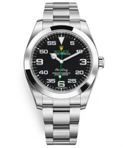 Rolex Oyster Perpetual 116900 Black Air King 40mm Mens Watch