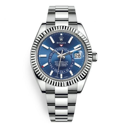 Rolex Sky Dweller 42mm Mens Watch 326934 Blue Index