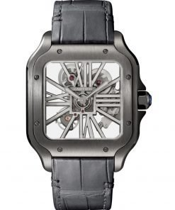 SANTOS DE CARTIER ADLC 39.8 mm WATCH WHSA0009