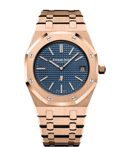 "AUDEMARS PIGUET ROYAL OAK ""JUMBO"" EXTRA-THIN 15202OR.OO.1240OR.01"