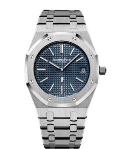 "AUDEMARS PIGUET ROYAL OAK ""JUMBO"" EXTRA-THIN 15202ST.OO.1240ST.01"