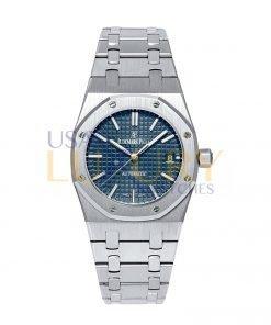 Audemars Piguet Royal Oak 15450ST.OO.1256ST.03 Blue Dial Watch