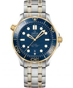 Omega Seamaster Diver 300m Co-Axial Master Chronometer Watch 210.20.42.20.03.001