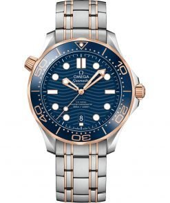 Omega Seamaster Diver 300m Co-Axial Master Chronometer Watch 210.20.42.20.03.002