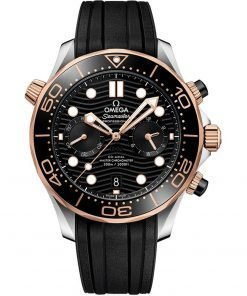 Omega Seamaster Diver 300m Co-Axial Master Chronometer Chronograph Watch 210.22.44.51.01.001
