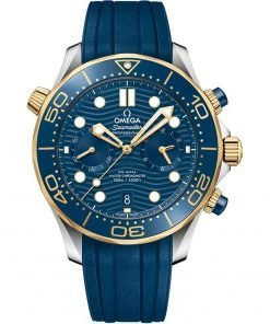 Omega Seamaster Diver 300m Co-Axial Master Chronometer Chronograph Watch 210.22.44.51.03.001
