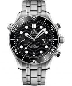 Omega Seamaster Diver 300m Co-Axial Master Chronometer Chronograph Watch 210.30.44.51.01.001