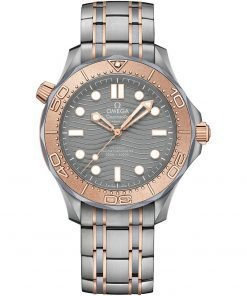 25th Anniversary Omega Seamaster Diver 300m Co-Axial Master Chronometer Watch 210.60.42.20.99.001