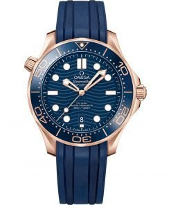 Omega Seamaster Diver 300m Co-Axial Master Chronometer Watch 210.62.42.20.03.001