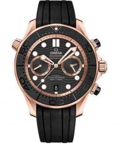 Omega Seamaster Diver 300m Co-Axial Master Chronometer Chronograph Watch 210.62.44.51.01.001