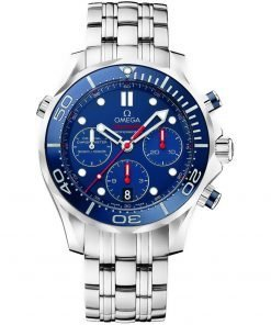 Omega Seamaster 300m Diver Co-Axial Chronograph Watch 212.30.44.50.03.001