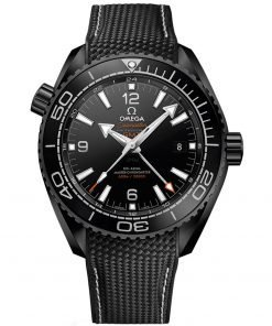 Omega Planet Ocean 600m Co-Axial Master Chronometer GMT Watch 215.92.46.22.01.001 DEEP BLACK