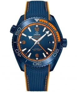 Omega Planet Ocean 600m Co-Axial Master Chronometer GMT Watch 215.92.46.22.03.001 BIG BLUE