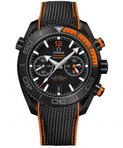 Omega Planet Ocean 600m Co-Axial Master Chronometer Chronograph Watch 215.92.46.51.01.001 DEEP BLACK