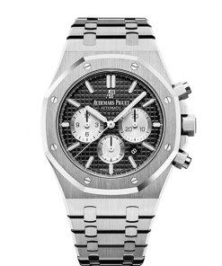 Audemars Piguet Royal Oak 26331ST.OO.1220ST.02 Chronograph Black Dial Watch