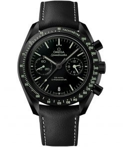 Omega Speedmaster Moonwatch Co-Axial Chronograph Mens Watch 311.92.44.51.01.004 DARK SIDE OF THE MOON PITCH BLACK