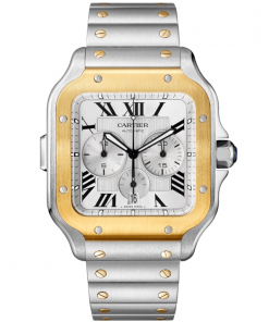 SANTOS DE CARTIER CHRONOGRAPH WATCH W2SA0008