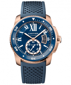 CALIBRE DE CARTIER DIVER BLUE WATCH WGCA0010