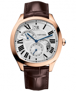 DRIVE DE CARTIER WATCH, LARGE DATE, RETROGRADE SECOND TIME ZONE AND DAY NIGHT INDICATOR WGNM0005